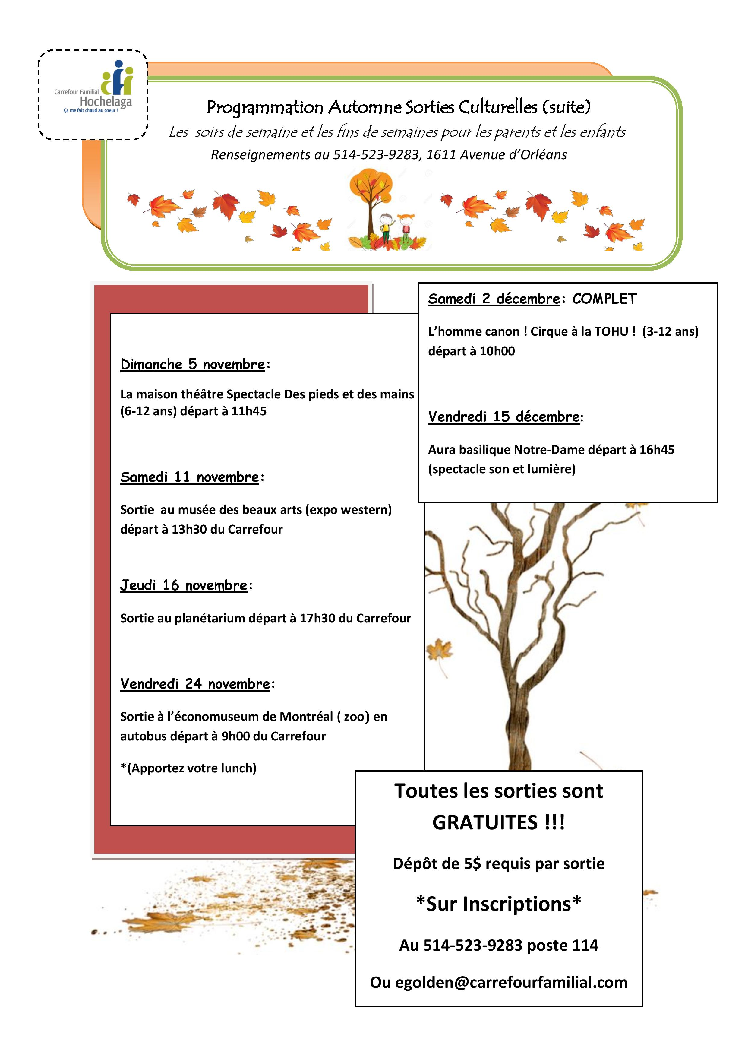Programmation automne Sorties PACE Carrefour Familial page 001